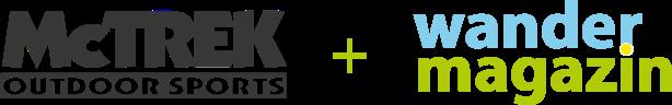 McTREK and Wandermagazin logo
