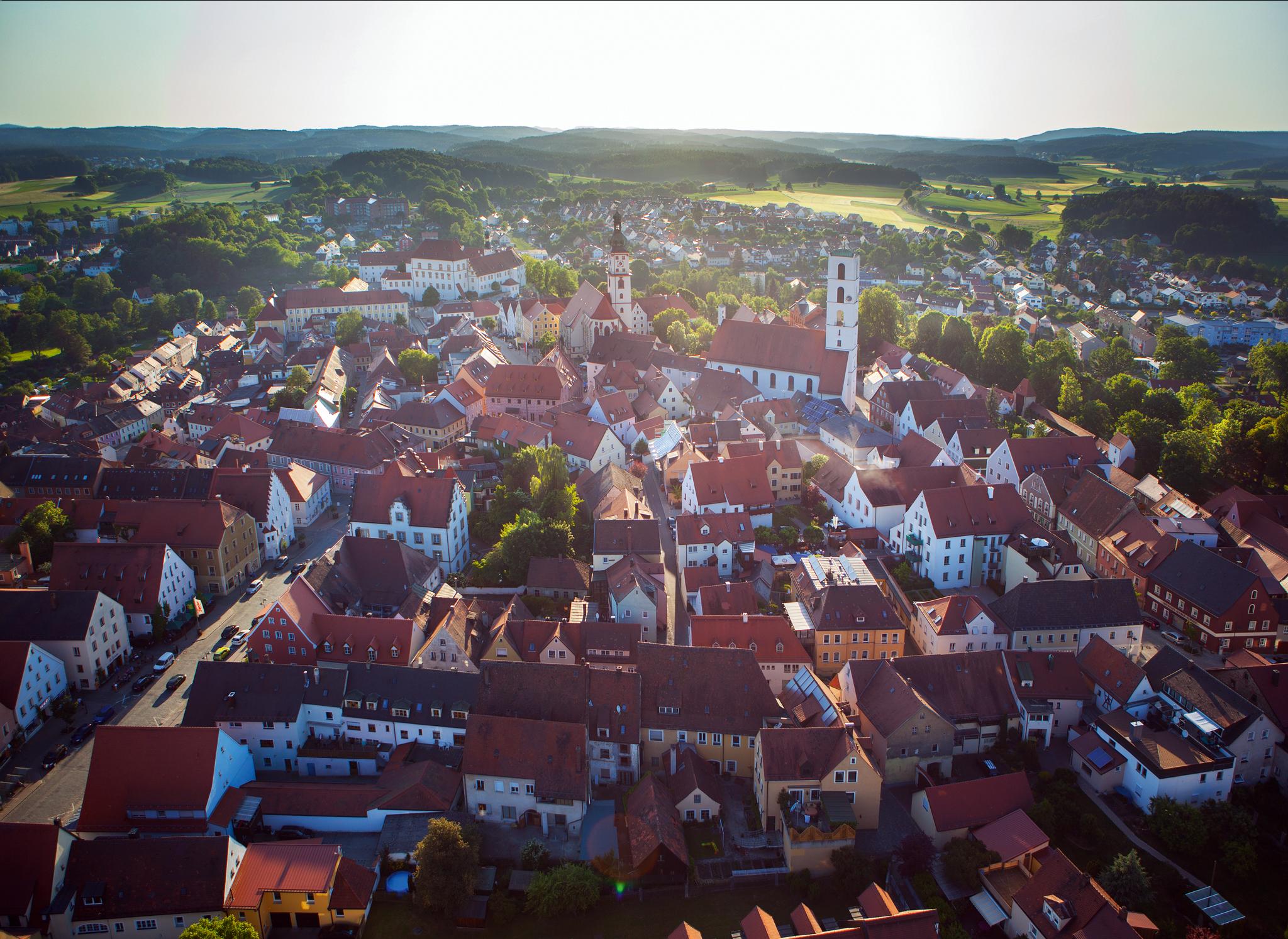 Blick auf die Altstadt von Sulzbach-Rosenberg © Thilo Hierstetter