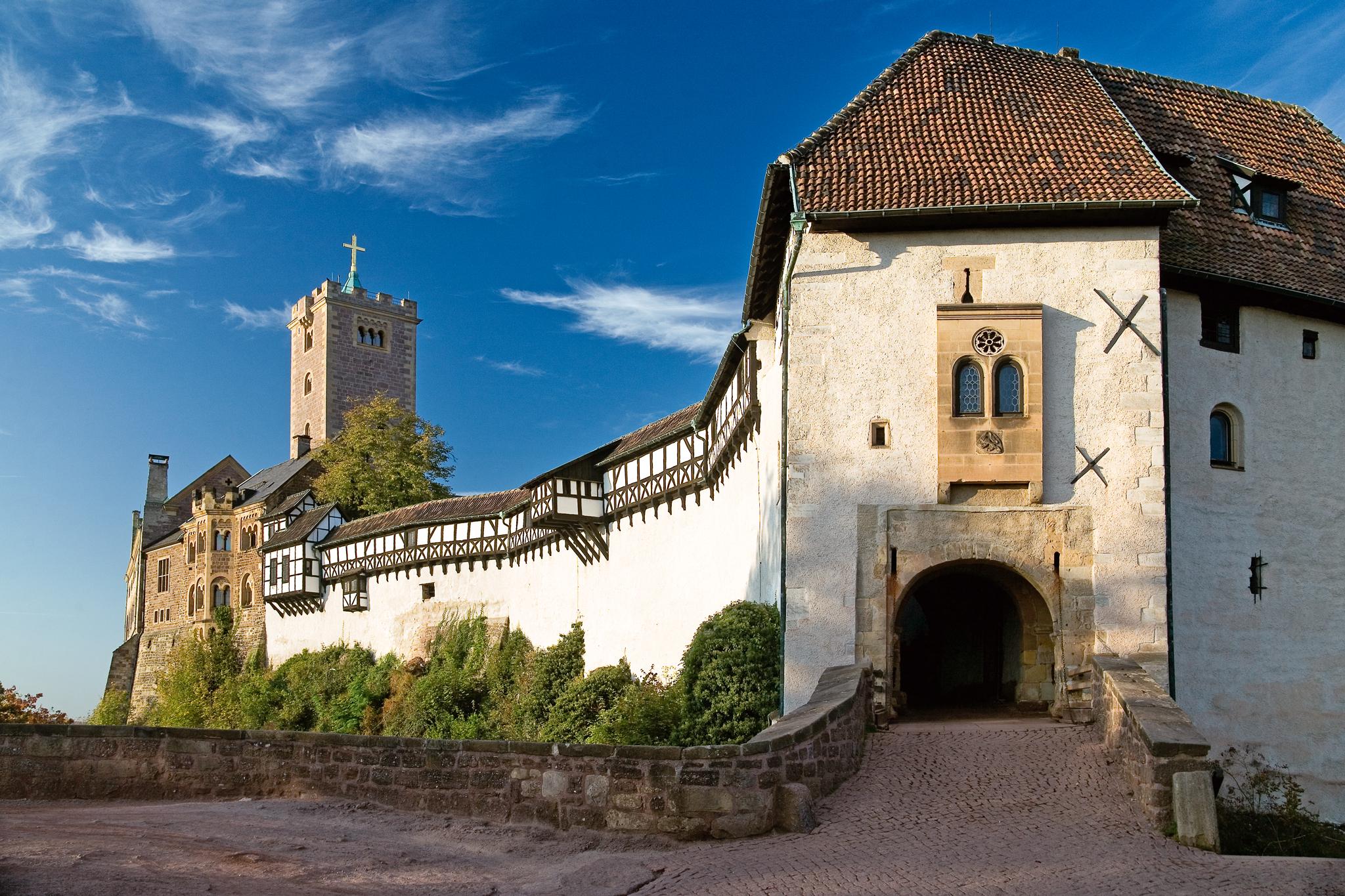 Die tausend Jahre alte Wartburg gehört zum UNESCO-Welterbe – hier offenbart sich Geschichte und Kultur wie an keinem anderen Ort in Deutschland © Anna-Lena Thamm