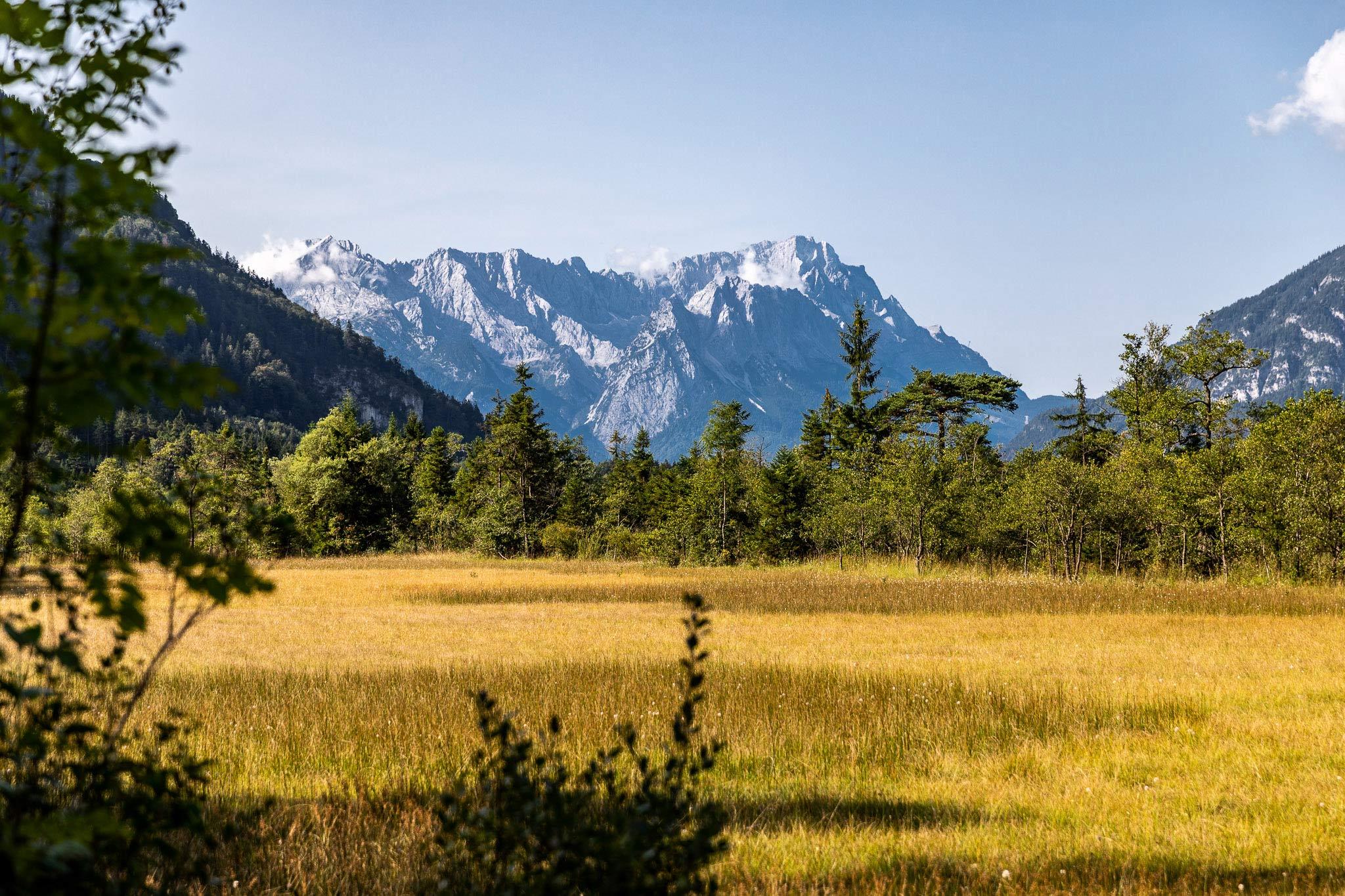 Auf dem Spitzenweg, Zugspitz Region © Zugspitz Region GmbH, Erika Spengler