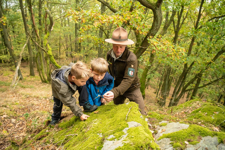 Mit dem Ranger auf Tour © Nationalpark Eifel, D. Ketz