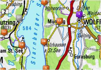 Karte Oberbayern.Wandermagazin Oberbayernmap Die Interaktive Karte Für Oberbayern