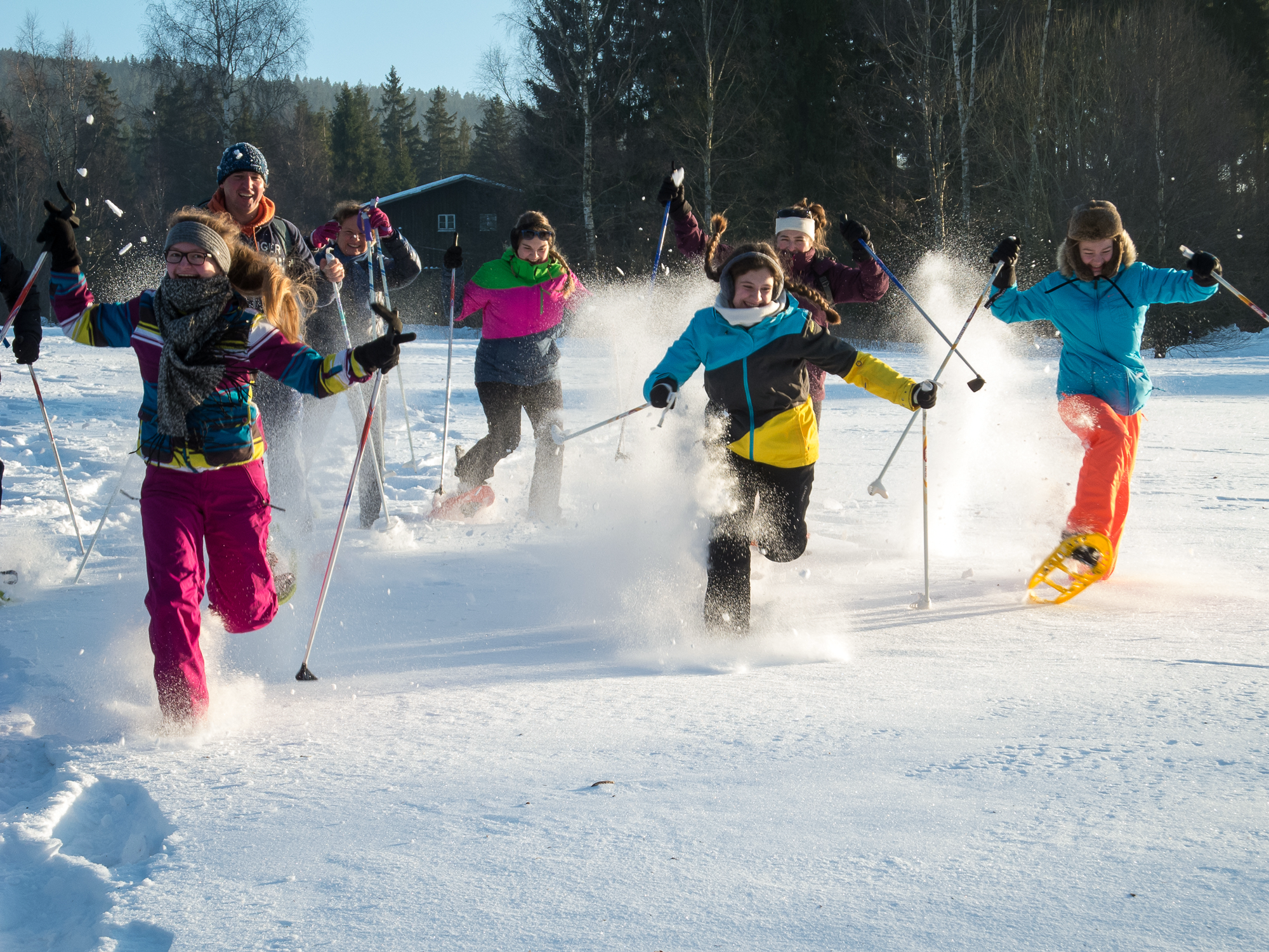 Winterwandern für Groß und Klein © Manfred Sieber