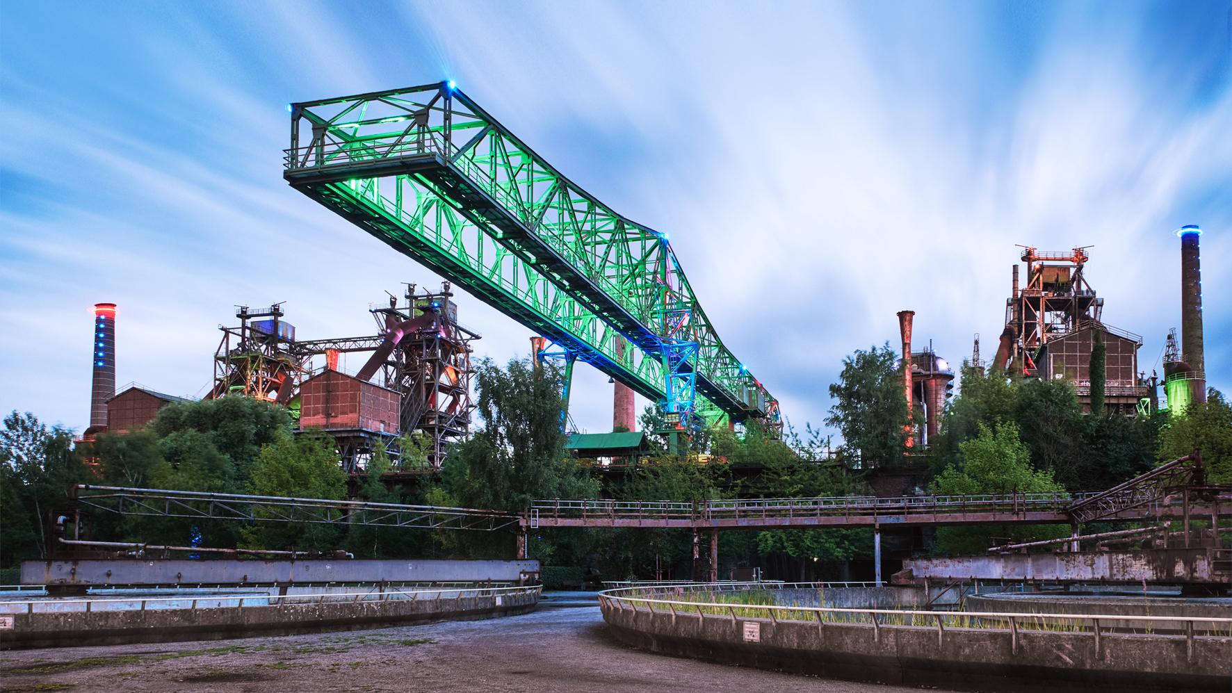 Ein Fotomotiv aus dem Landschaftspark Duisburg-Nord © Photo Adventure, Olav Brehmer/Jochen Kohl