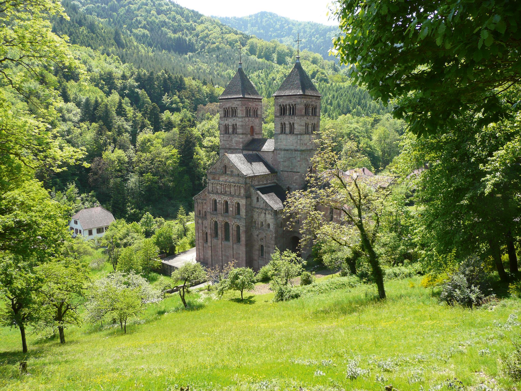 Abtei von Murbach © D. Foucré - ADT