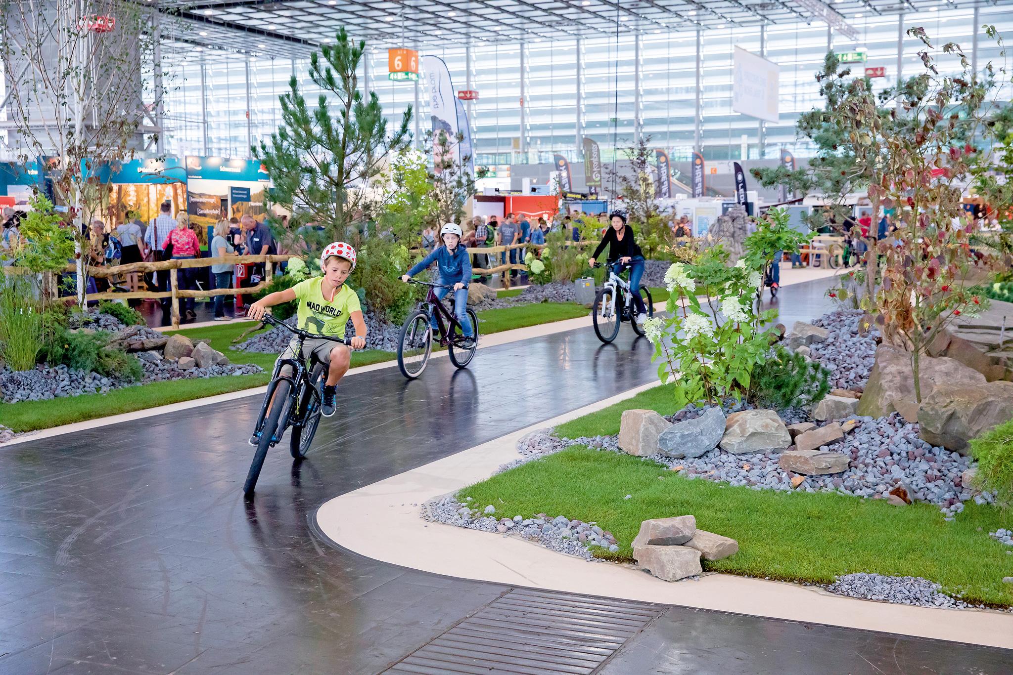 Bike-Parcours © Messe Düsseldorf