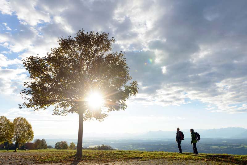 Auf dem Hohen Peißenberg © Wolfgang Ehn