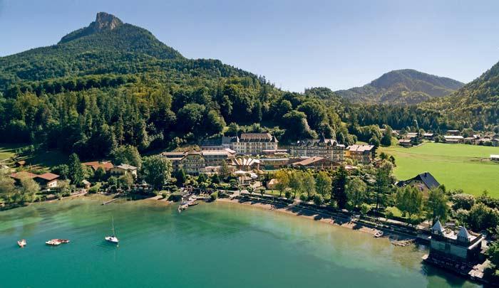 ****Superior Hotel Ebner's Waldhof am See direkt am Fuschlsee  gelegen © ****Superior Hotel Ebner's Waldhof am See