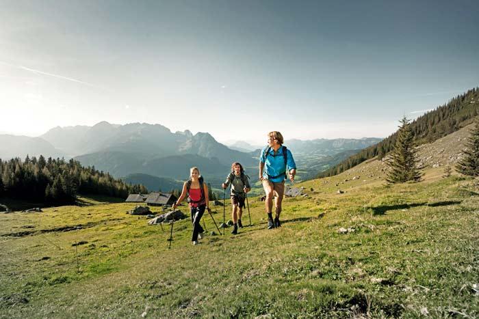 Zeit zum Erkunden der Berge der Fuschlseeregion © ****Superior Hotel Ebner's Waldhof am See