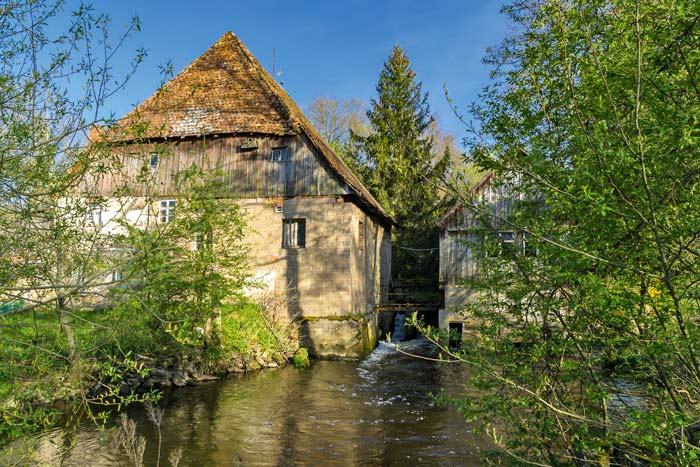 Jede Mühle erzählt ihre eigene Geschichte - hier die Paulusmühle © Fotofreunde Hilpoltstein