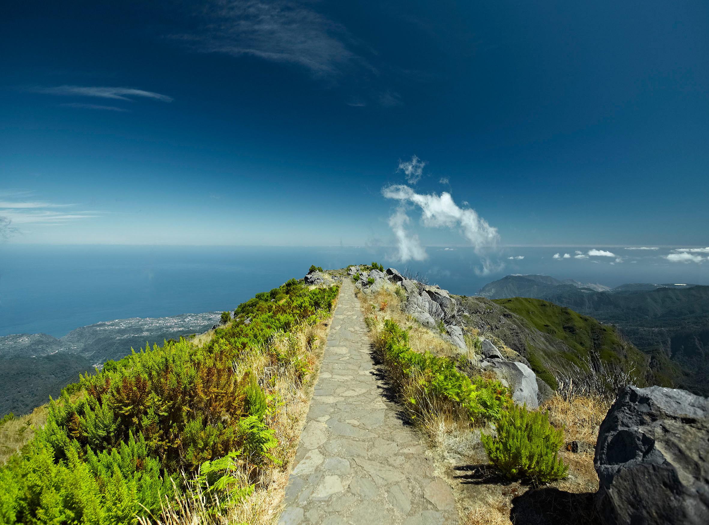 Auf dem Pico Ruivo © Henrique
