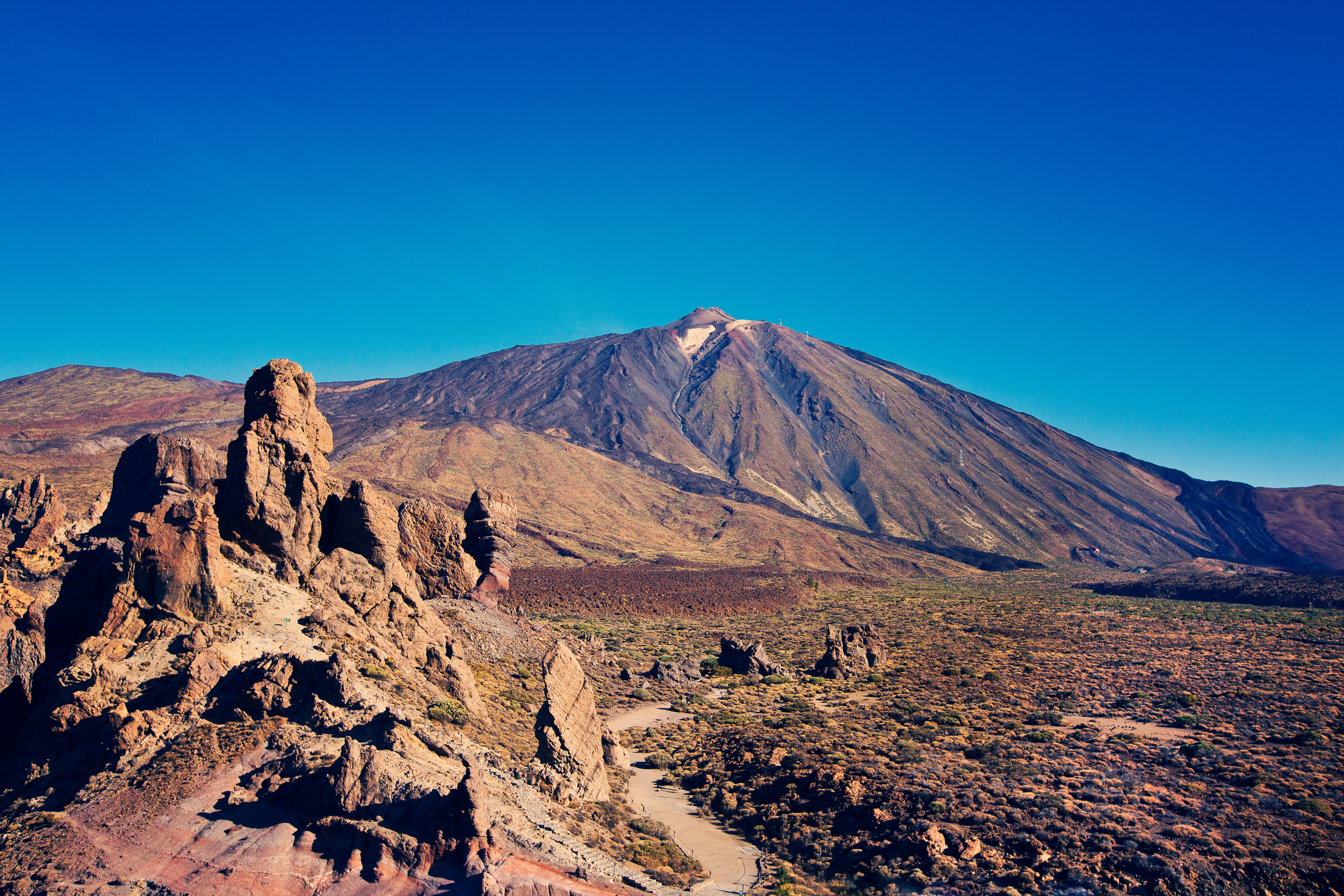 Der Vulkan El Teide zum Greifen nah © Turismo de Tenerife