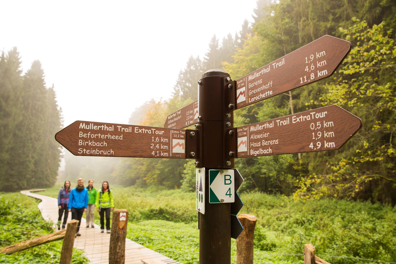 Wegweiser auf Route 3 © ORT MPSL Th. Bichler.de