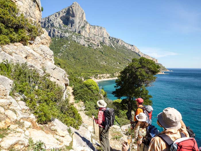 Über Hirtenpfade Sardinien erkunden, Cengia Giradili © Lisa Dell