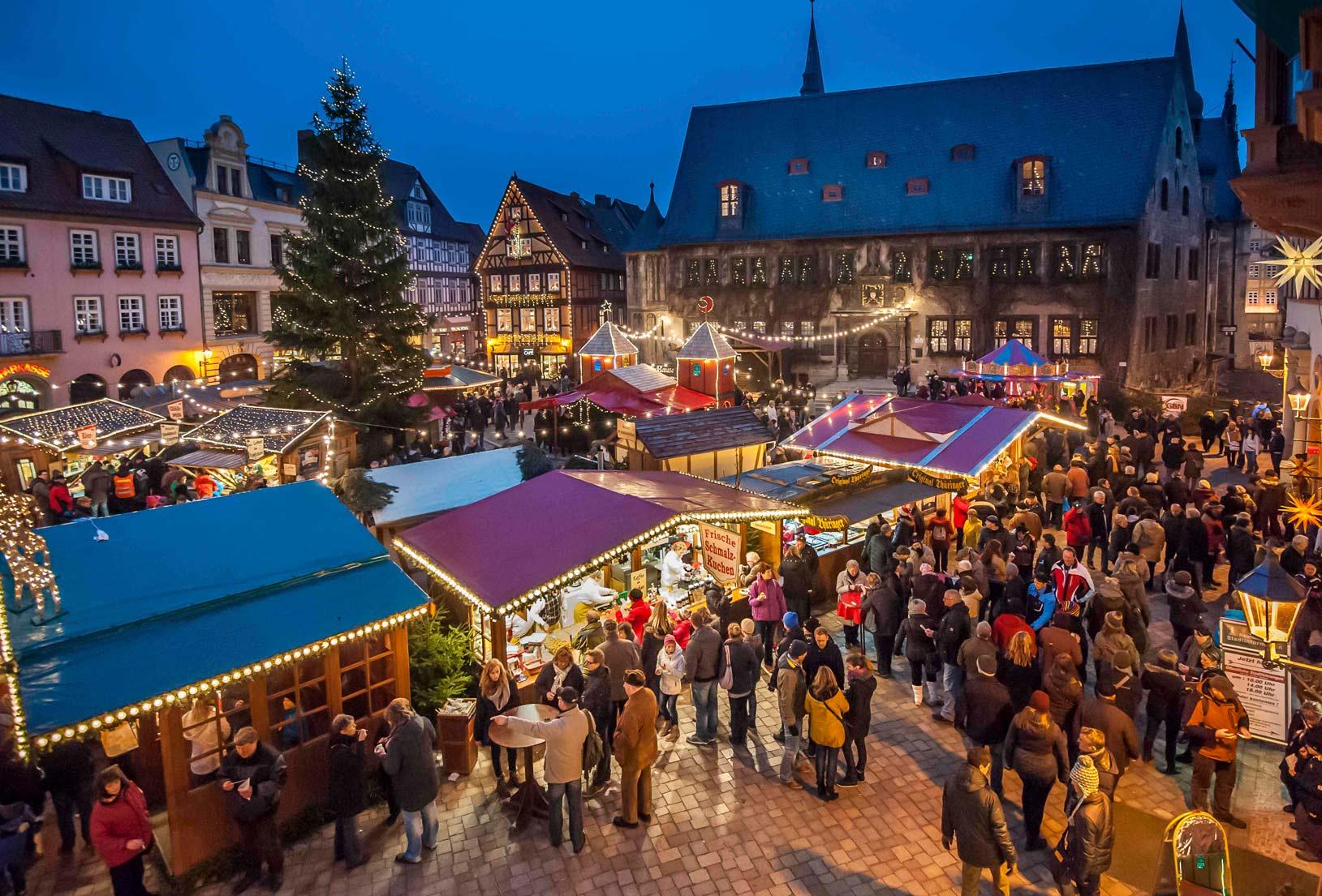 Weihnachtsmarkt © Jürgen Meusel