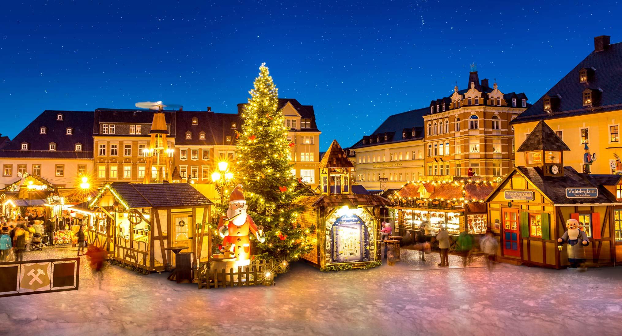Annaberger Weihnachtsmarkt © Dirk Rückschloss