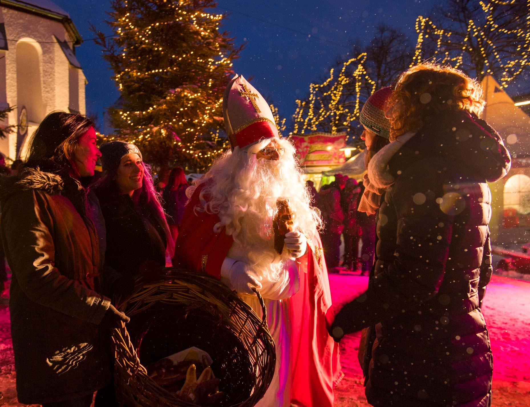 Besuch vom Nikolaus © Schmallenberger Sauerland Tourismus