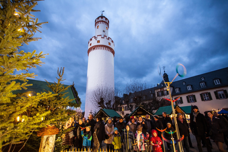 Weihnachtsmarkt Am Schloss Bad Homburg © Stadt Bad Homburg, ChristianMetzler