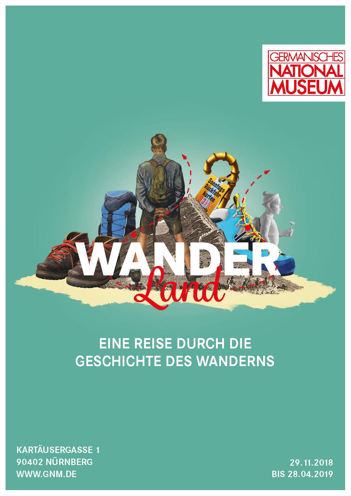 Plakatmotiv zur Ausstellung im Germanischen Nationalmuseum © Germanisches Nationalmuseum, Nürnberg