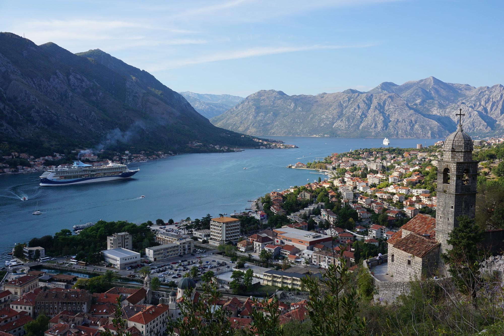 Die UNESCO-Weltkulturerbe-Stadt Kotor an der montenegrinischen Adriaküste © Thorsten Hoyer
