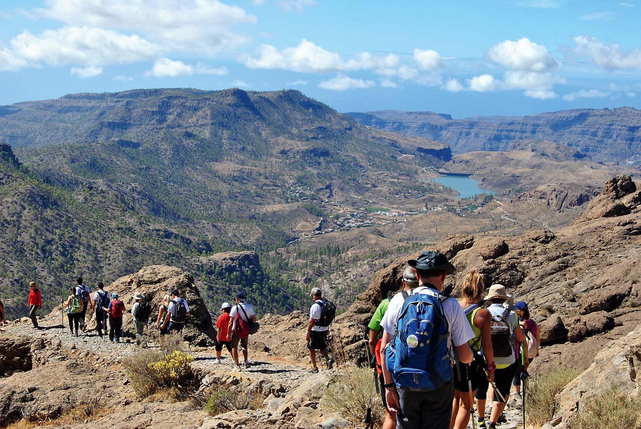 Wanderer auf Gran Canaria © GCWF