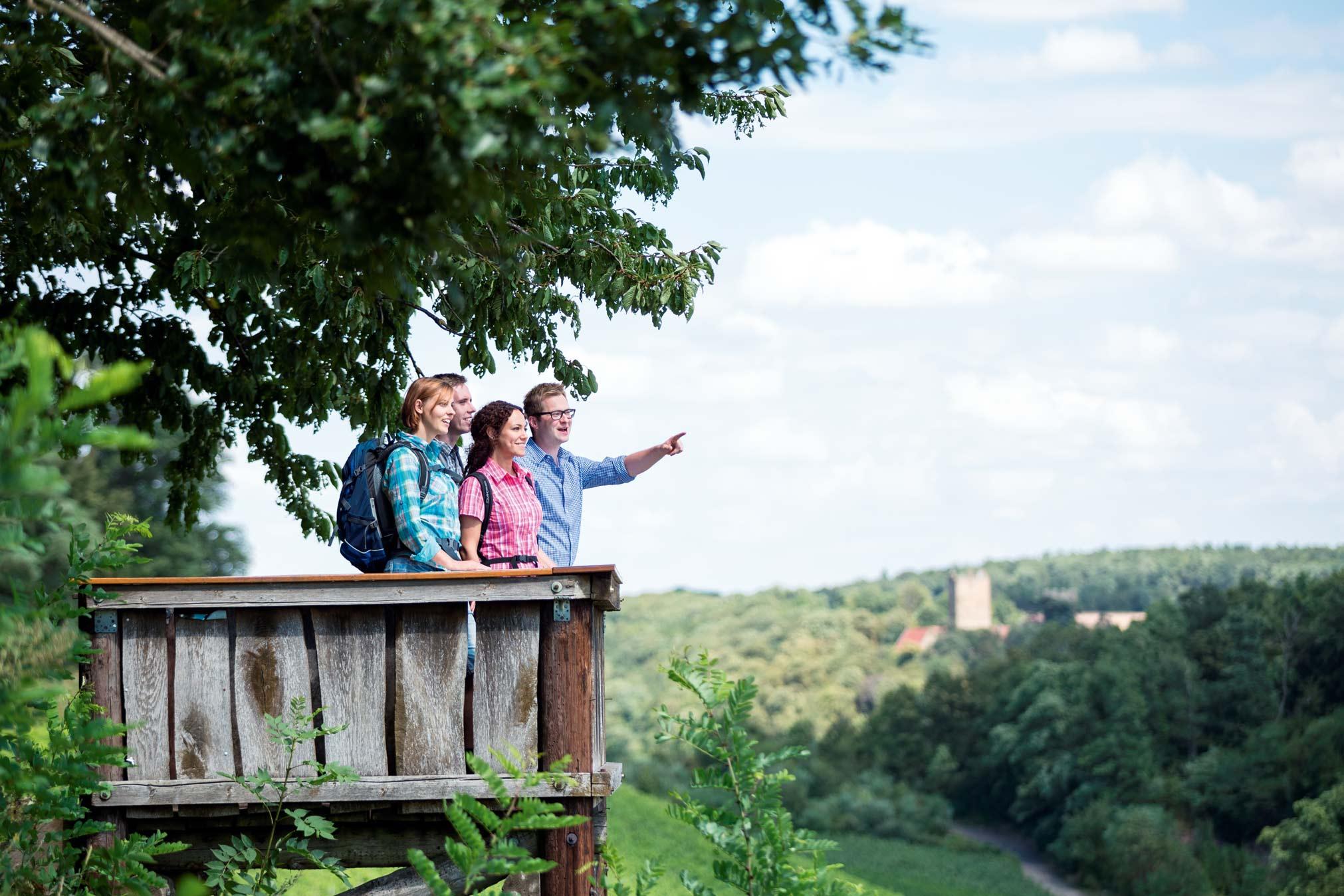 Zwei Naturparks laden zum Ein- und Ausblicken ein © TG HeilbronnerLand, Thomas Rathay