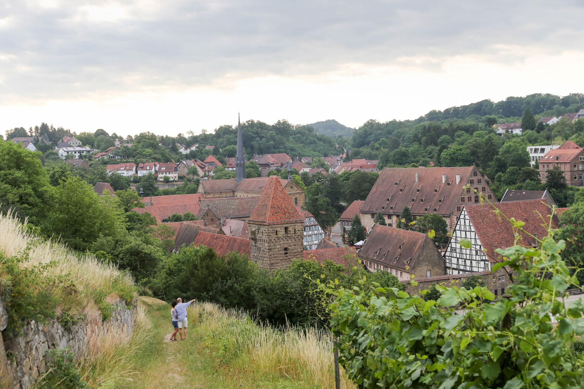 Blick auf das Kloster Maulbronn © Conny Plank