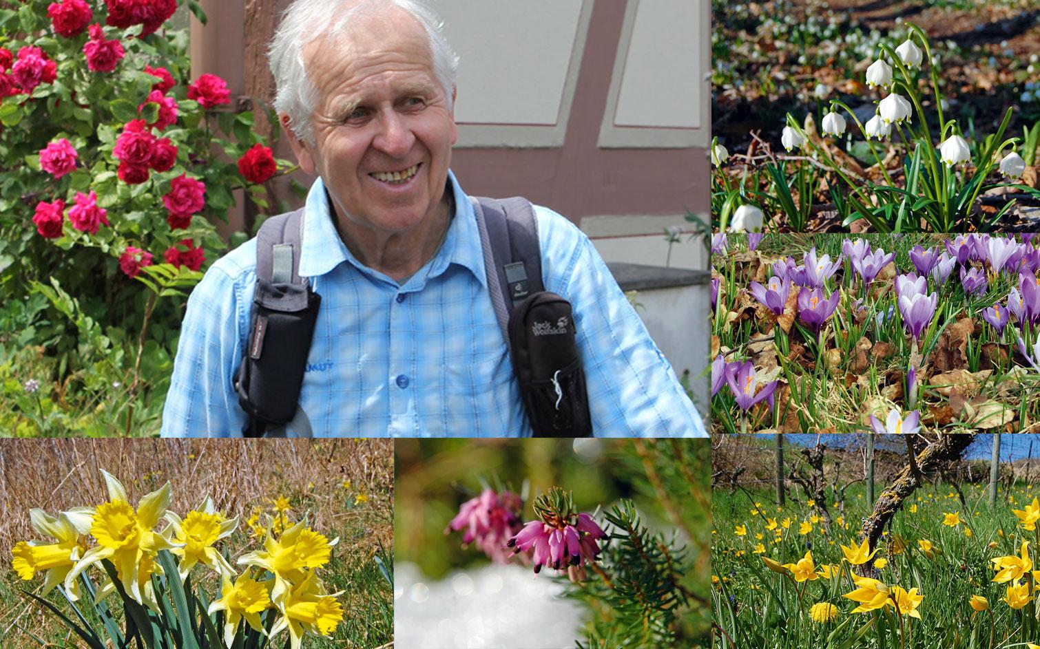 Konrad Lechner gibt Tipps für botanische Wanderungen