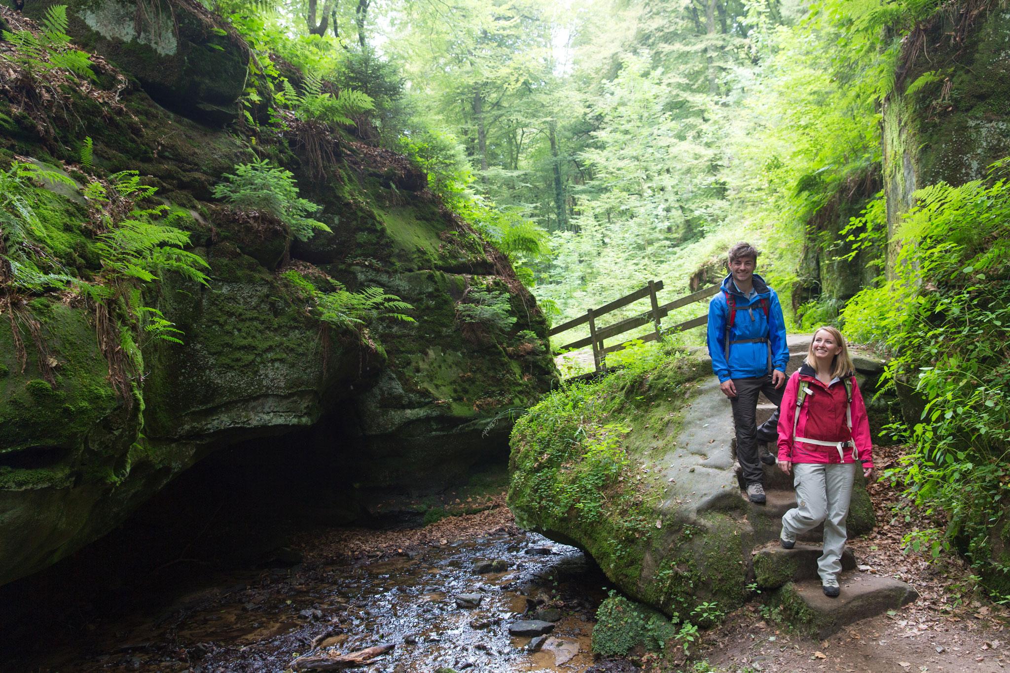 Wandern in der mystischen Felsenwelt Region Müllerthal © Best of Wandern, Thomas Bichler