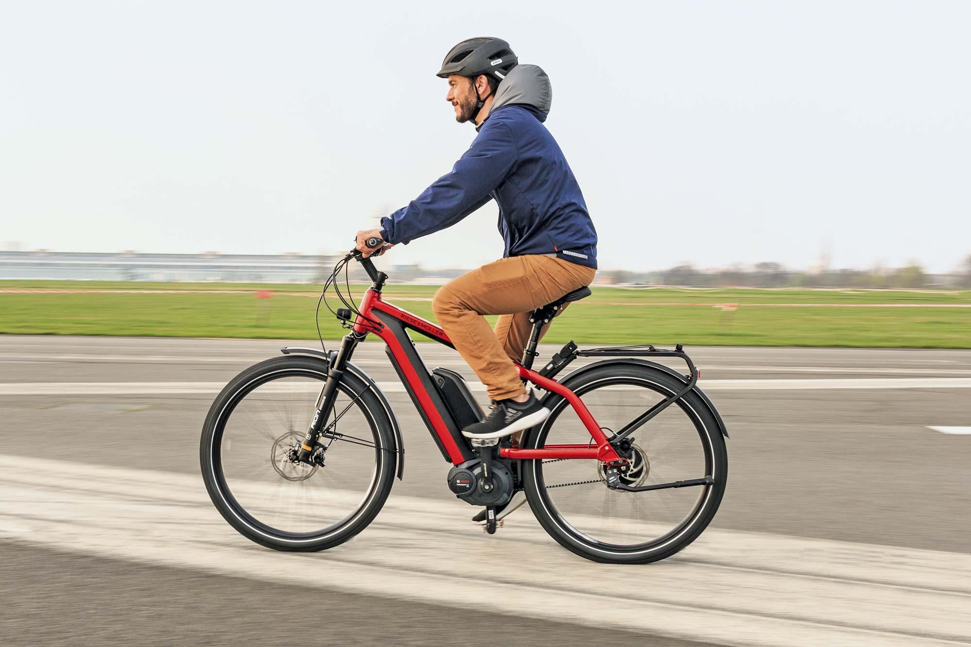 Die schöne Seite des e-Bikes: Flott unterwegs © Velo Berlin