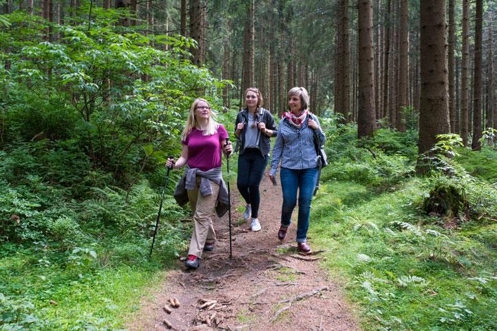 Gemeinsam die Harzer Wälder erkunden © HAHNENKLEE tourismus marketing gmbh