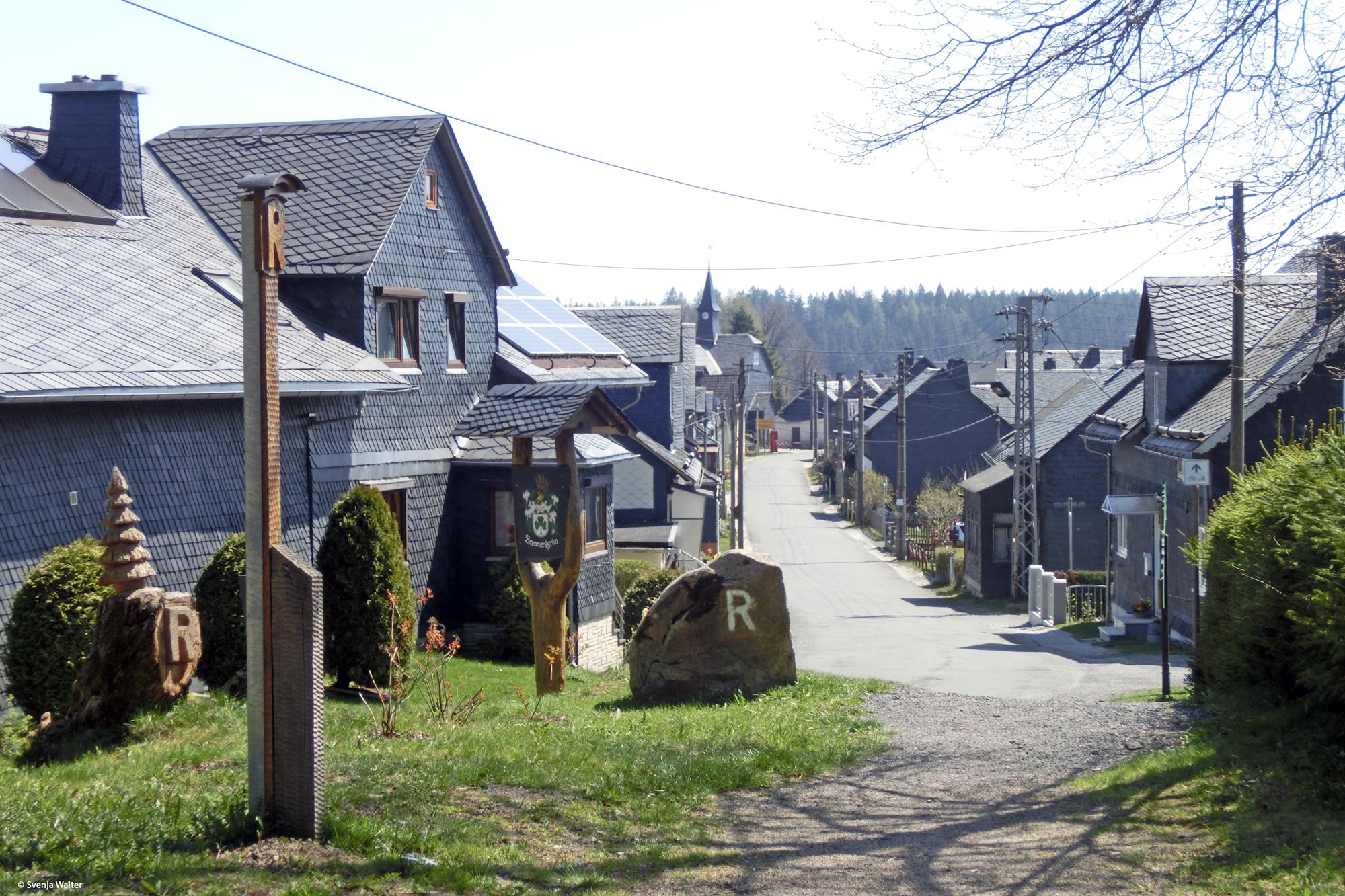 Der hübsche Ort Brennersgrün © Svenja Walter