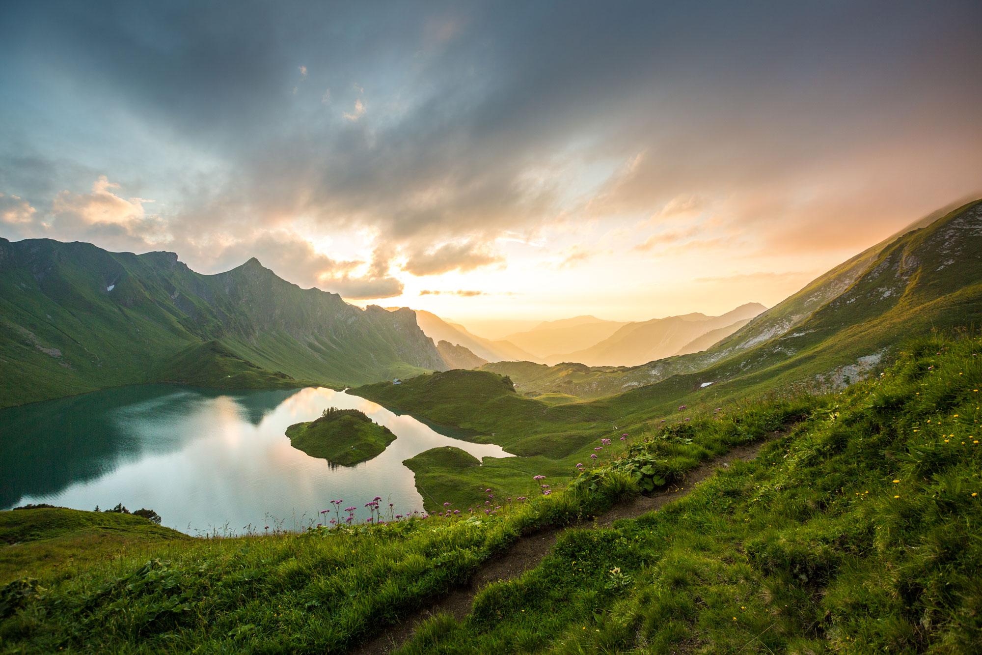 Imposante Landschaftseindrücke auf Etappe 2 © Erika Spengler