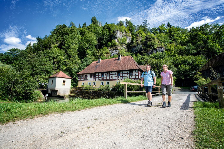 Fränkische Schweiz: Wanderung an derRabenecker Mühle, Waischenfeld© Fränkische Schweiz, Trykowski
