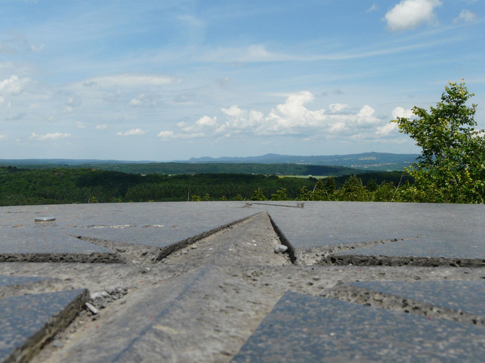 Blick vom Aussichtspunkt Steinbergkopf © Ricarda Große