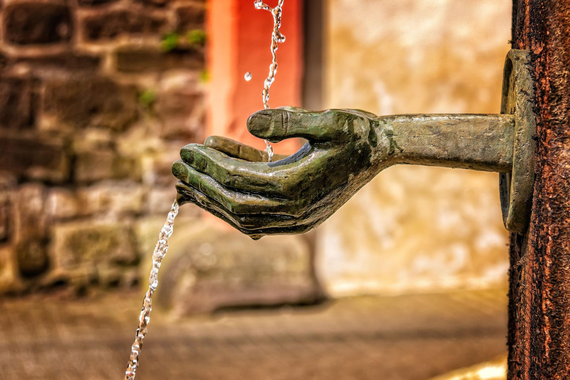 Mineralwasser - ein besonderes Produkt der Natur