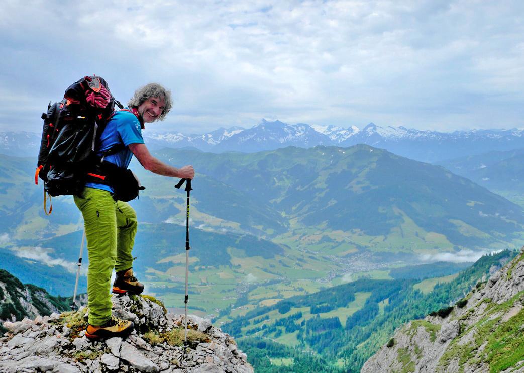 Steffen Hoppe überquert die Alpen © Steffen Hoppe