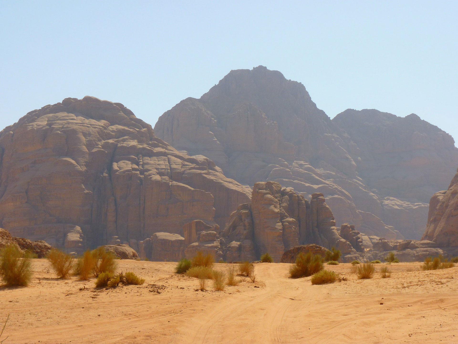 ... durch die Wüste Negev ...  © Pixabay