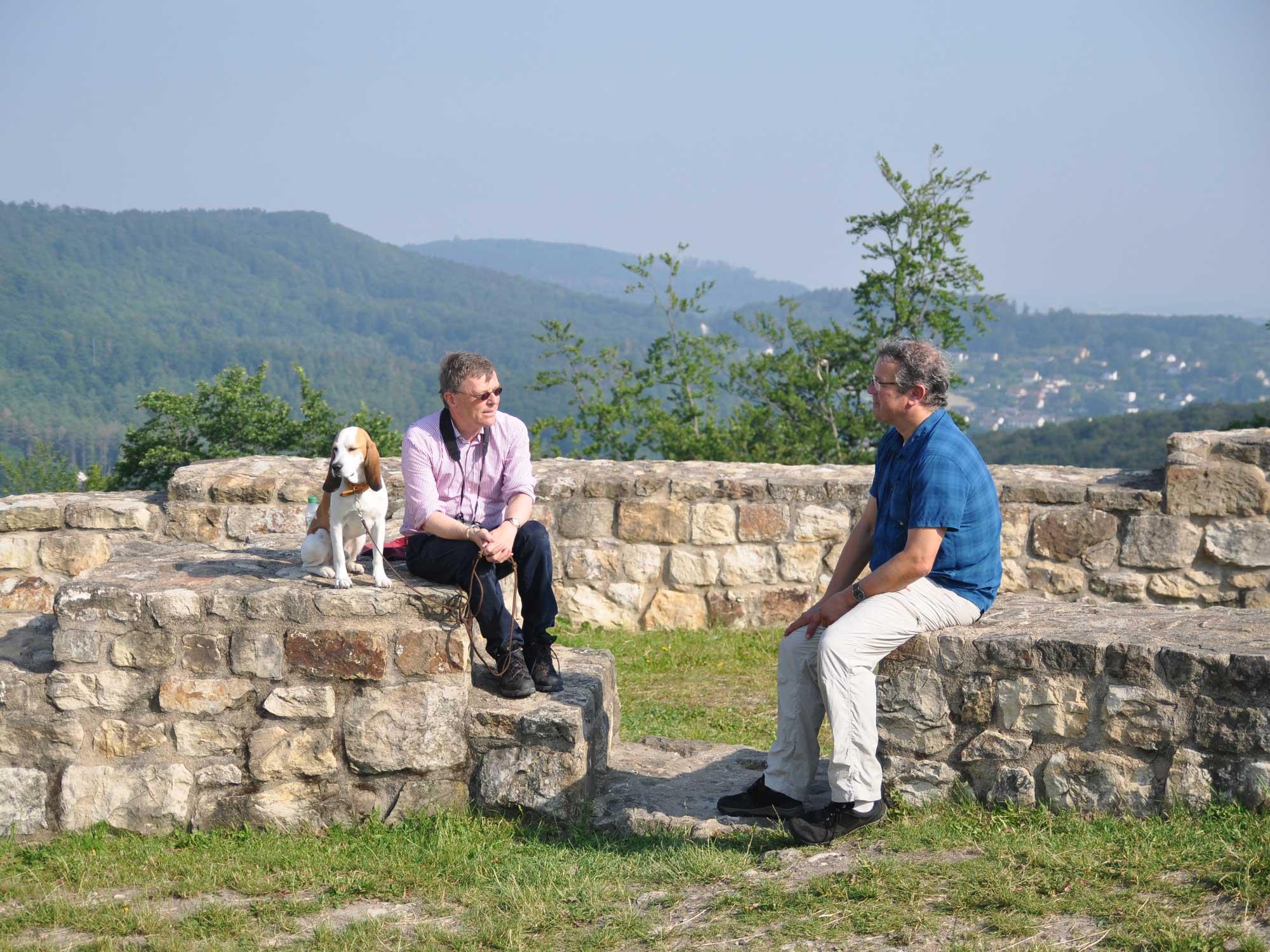 Stephan Prinz zur Lippe im Gespräch mit Manuel Andrack © konsequent PR, René Sutthoff