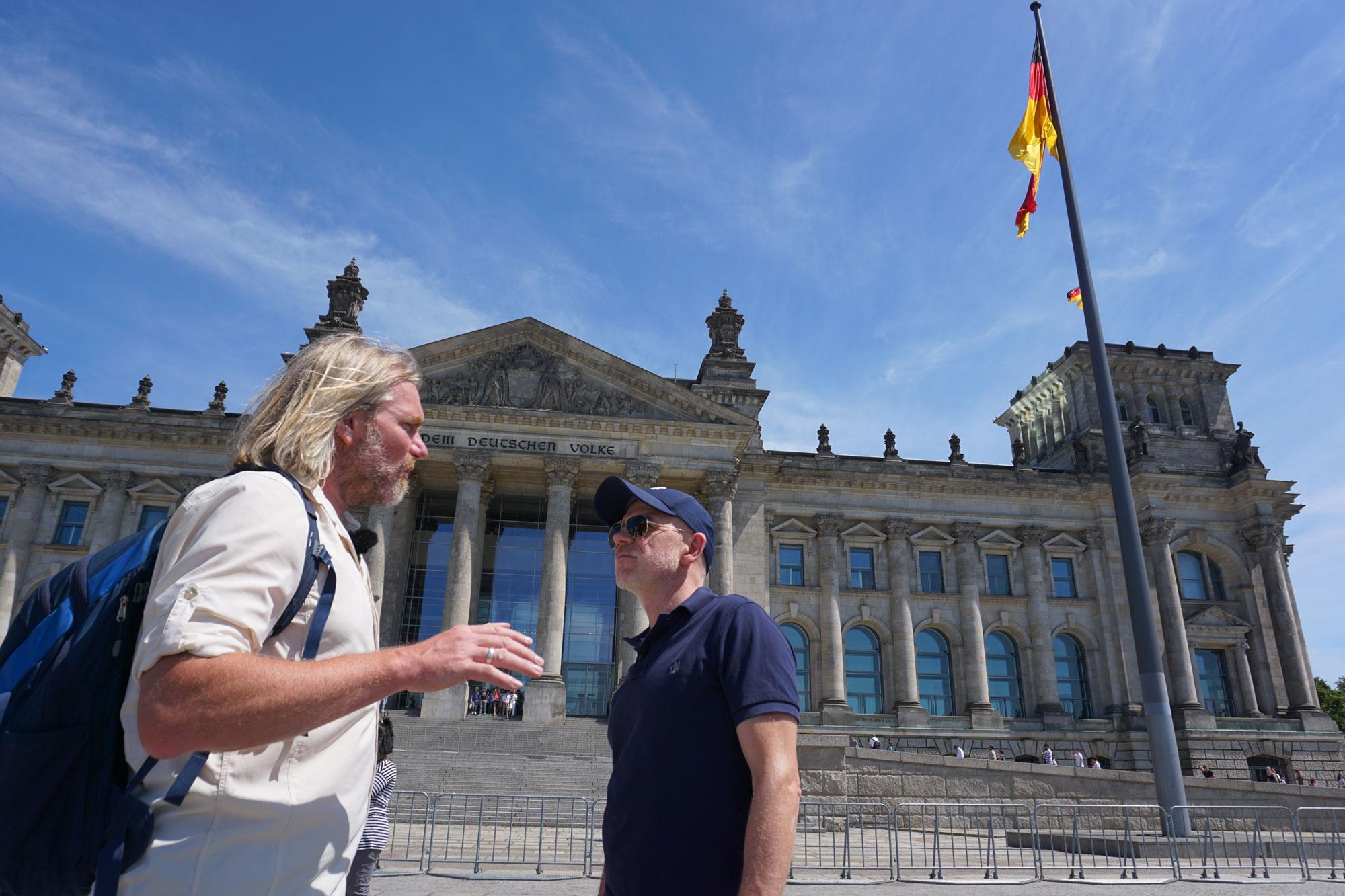 Thorsten Hoyer und Dietmar Wunder in Berlin ©Philippe Opigez