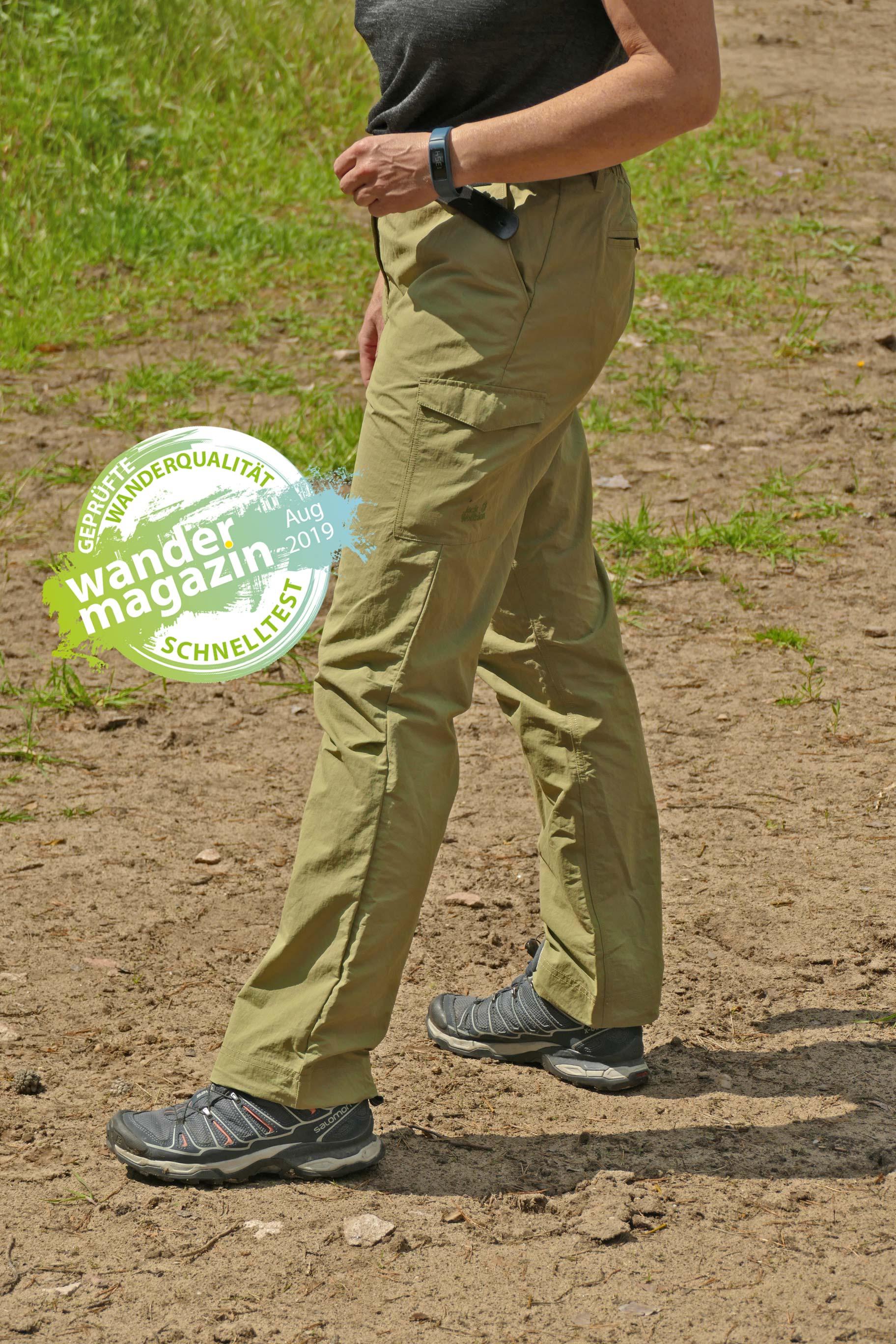 Die Lakeside Pants von Jack Wolfskin © U. Poller/W. Todt