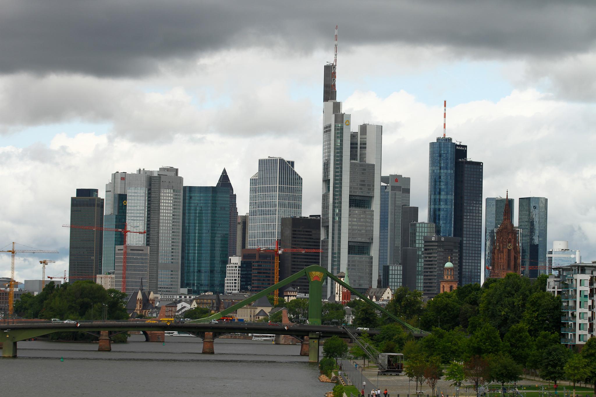 Eindrucksvolle Kulisse von Frankfurt am Main © Wandermagazin