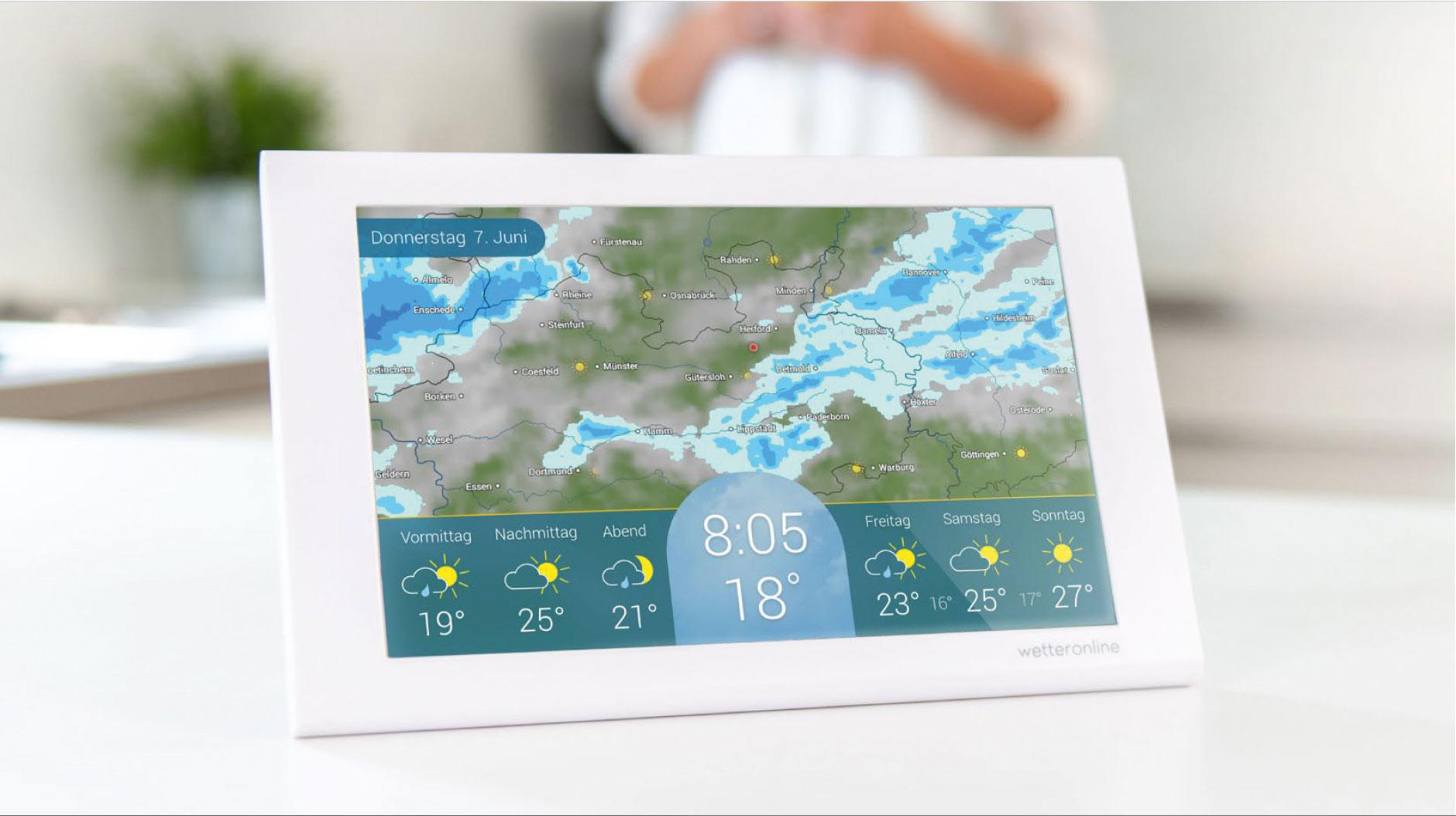 Abbildung der Wetterstation © WetterOnline