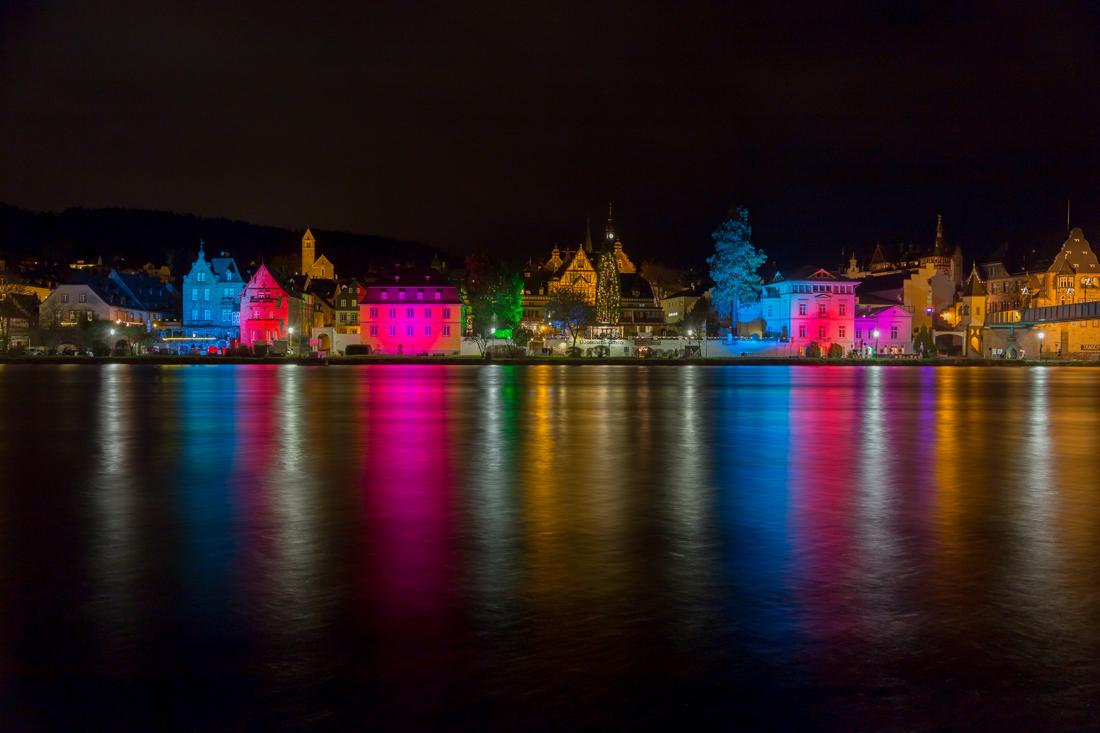 Weihnachtliches Moselufer © Reinhard Reinders