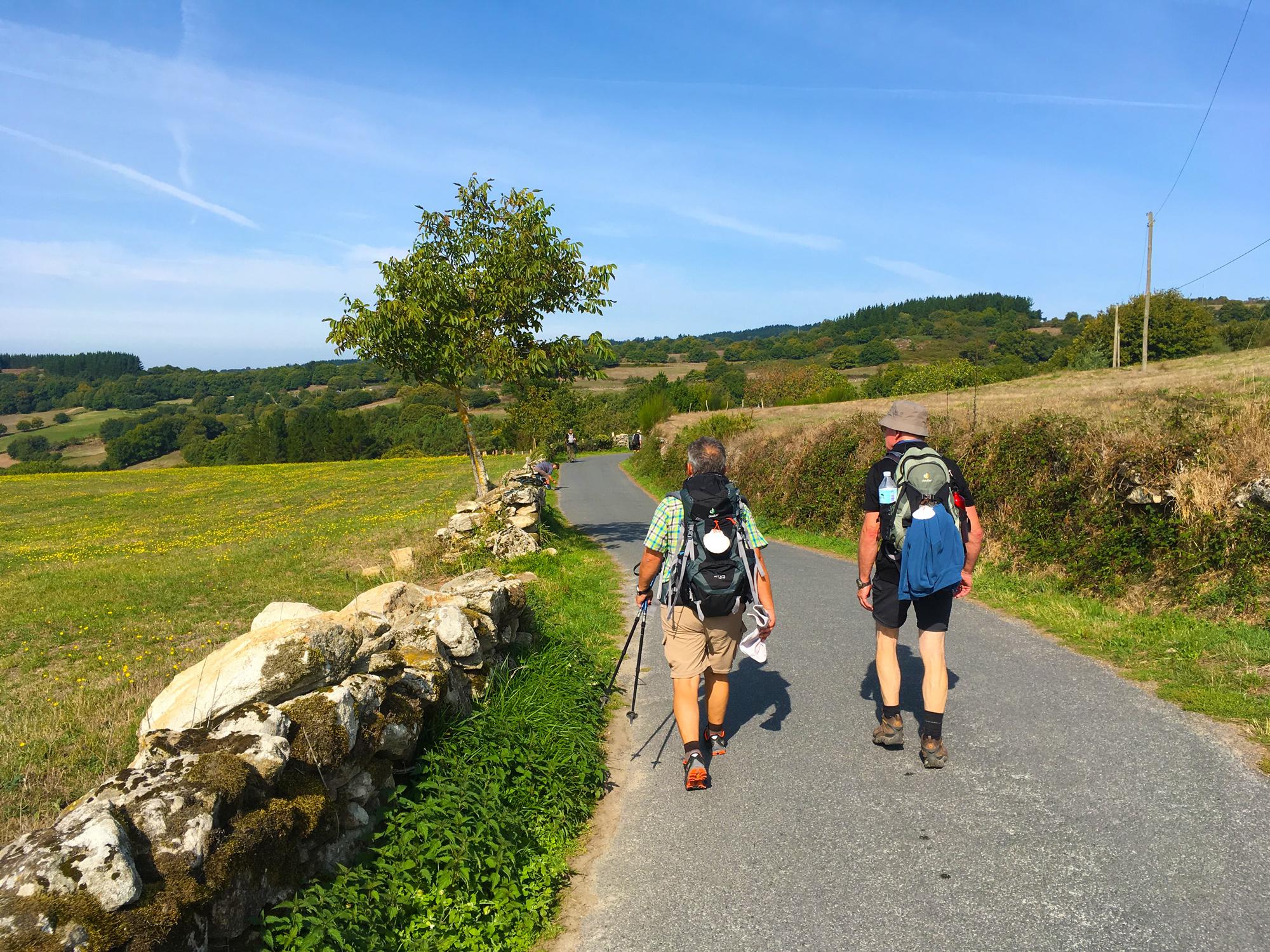 Pilger auf dem Jakobsweg Camino Francés © Susanne Otto