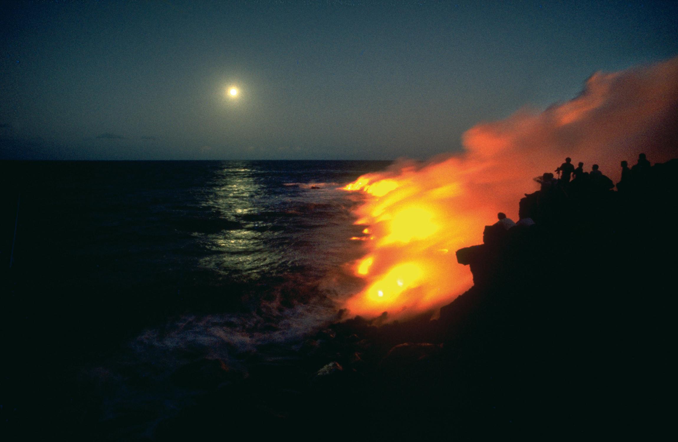Ausbruch des Vulkan Piton de la Fournaise © VFA Réunion