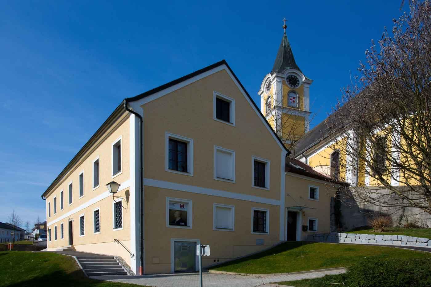 Das Geburtshaus Anton Bruckners in Ansfelden © Ing. Otmar Hamberger