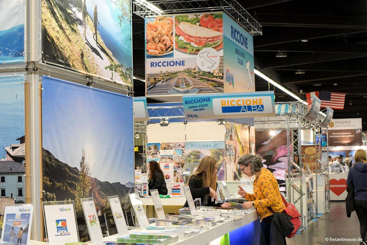 Neue Reiseziele, Aktivitäten und mehr entdecken ©freizeitmesse.de