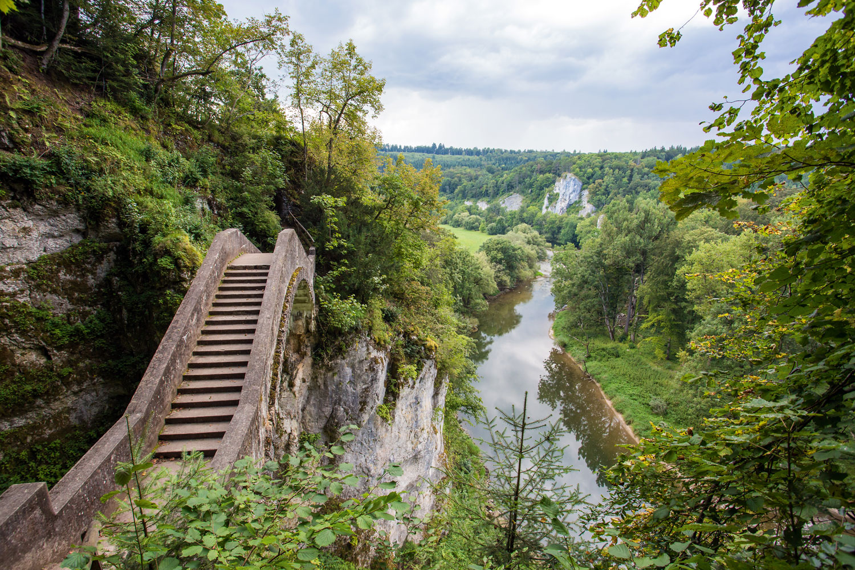 Teufelsbrücke bei Inzigkofen im Donautal © Landratsamt Sigmaringen