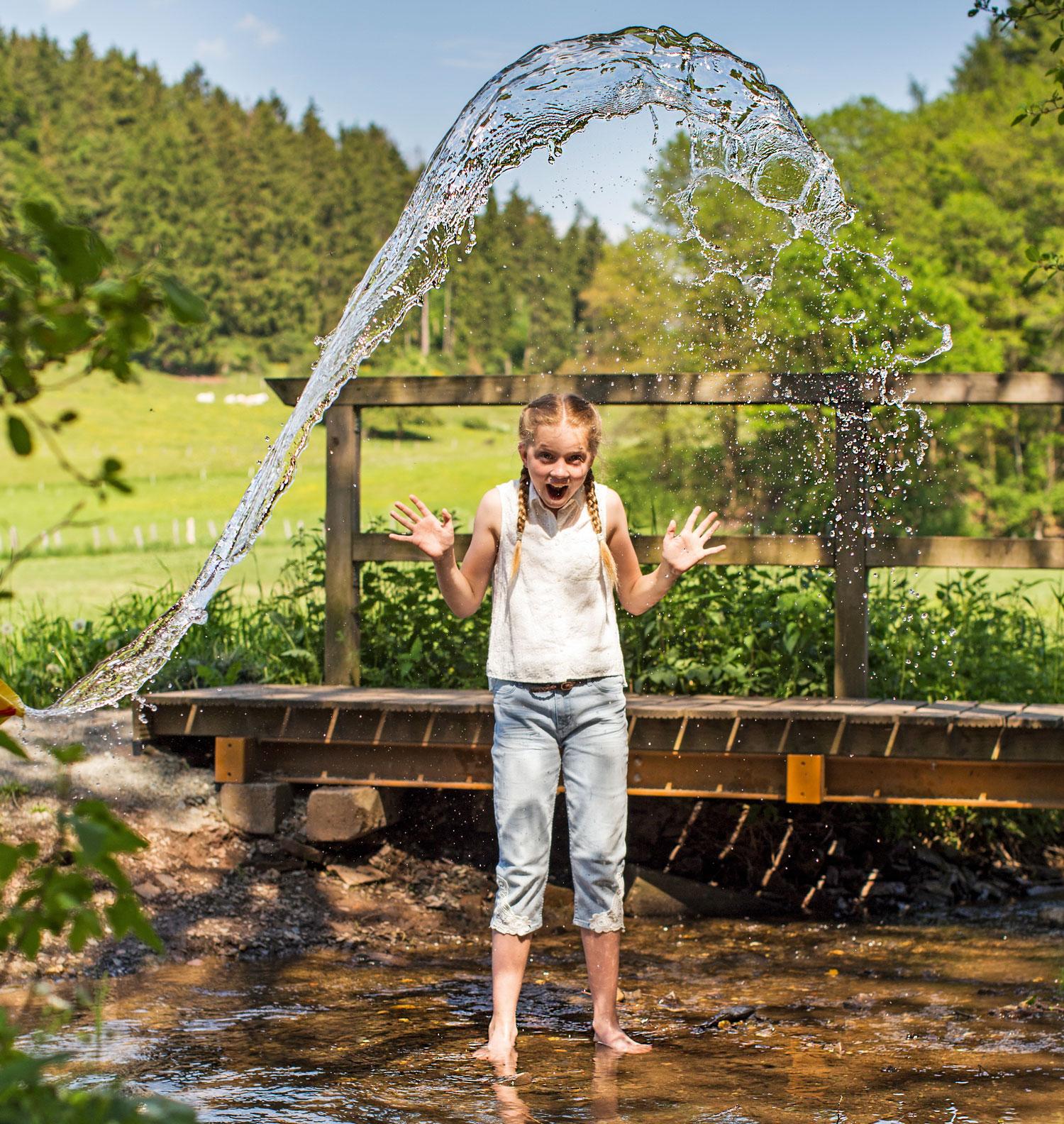 Wasserspaß auf den Naturwegen © Touristik-Gesellschaft Medebach GmbH